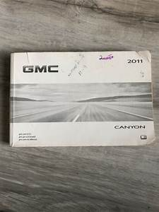 2011 11 Gmc Canyon Owners Manual Guide M0183