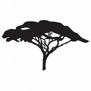 Stickers Arbre Noir : sticker arbre savane afrique color stickers ~ Teatrodelosmanantiales.com Idées de Décoration