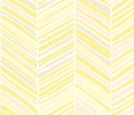 Herringbone Hues of Pastel Yellow by Friztin wallpaper