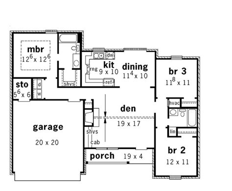 split level ranch floor plans open split level ranch 9161 3 bedrooms and 2 5 baths the house designers