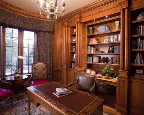 home office built  credenza  bookcases  desk