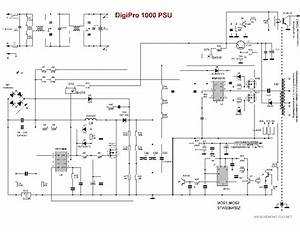 Digipro 1000 Sch Pcb Service Manual Download  Schematics