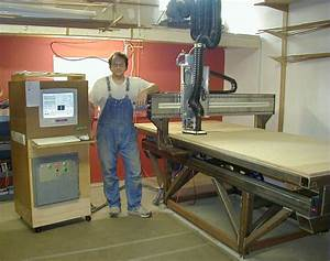 MadVac CNC - home made 4'x8' cnc precision gantry router