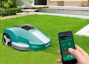 Prix Tondeuse Robot : robot tondeuse indego 1200 connect de bosch jardibot ~ Premium-room.com Idées de Décoration