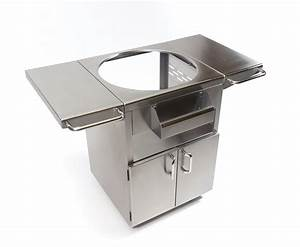 STAINLESS STEEL GRILL TABLE - Fireside Outdoor Kitchens