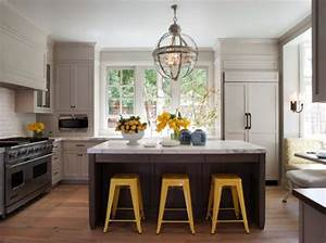 decorating yellow grey kitchens ideas inspiration With kitchen colors with white cabinets with metal globe wall art