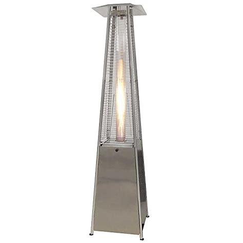 thermo tiki deluxe propane outdoor patio heater pyramid