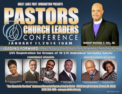 pastors  church leaders conference  great lakes