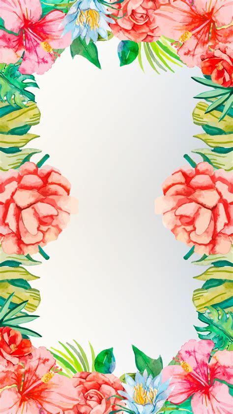 wallpaper tropical flowers iphone