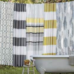 curtain brandnew yellow striped curtains design