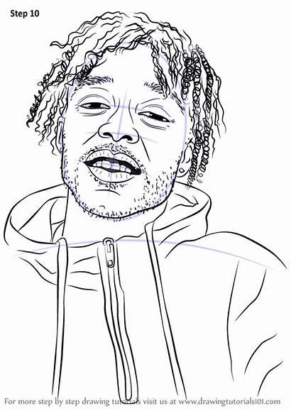 Step Lil Uzi Vert Rappers Drawing Draw