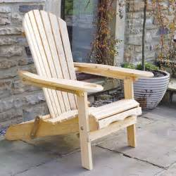 Patio Furniture Glides by Garden Furniture Patio Newby Wooden Adirondack Arm Chair