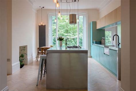 blue stained kitchen cabinets beautiful blue kitchen cabinet ideas 4839