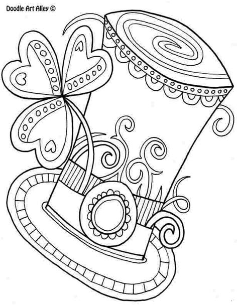Remove from oven and let cool. St patrick's day coloring pages pdf Saint Patrick's Day ...