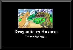 Dragonite vs Haxorus Meme by 42Dannybob on DeviantArt