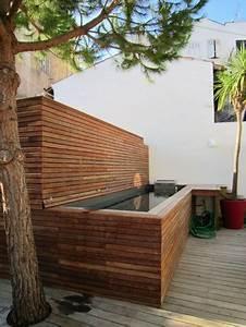 Petite Piscine Hors Sol Bois : petite piscine pour maison de ville nos conseils pour ~ Premium-room.com Idées de Décoration