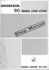 Workshop Manual For Honda Ct200 - Honda 4-stroke Net