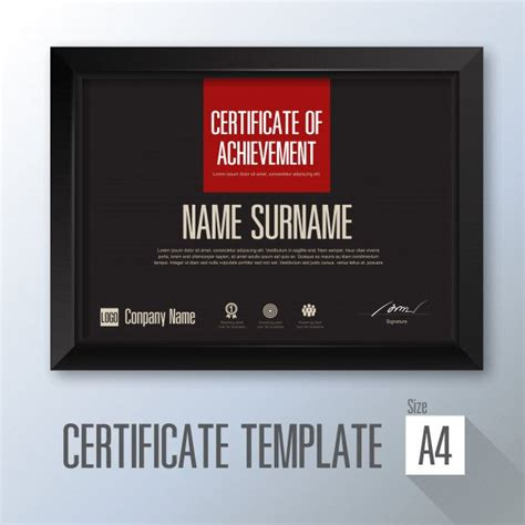 certificate  appreciation award template