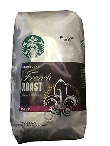 Some of these darker coffees we've had are very easy to. Starbucks French Roast Dark Whole Bean Coffee 40 Oz/2.5 LB /1.13kg | eBay