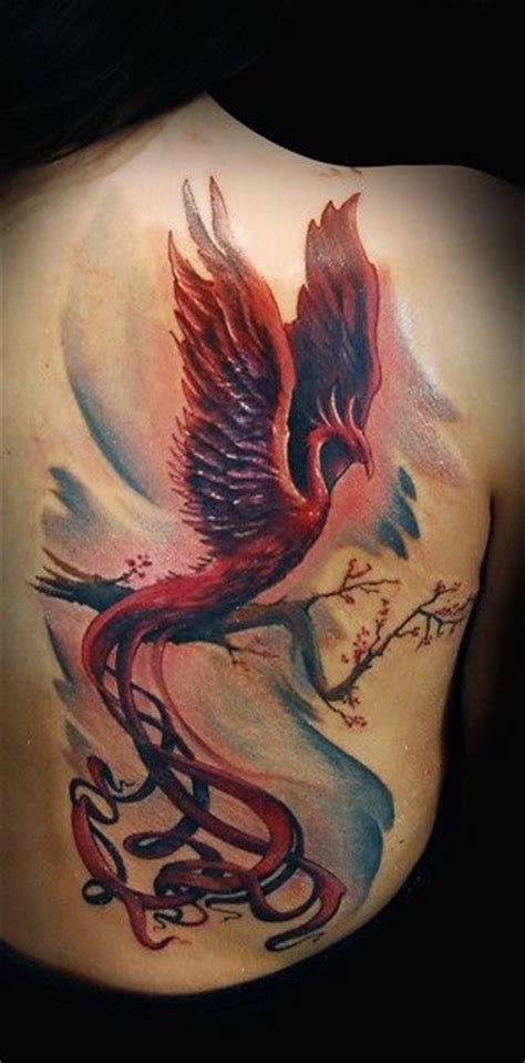 watercolor phoenix tattoo ideas flawssy