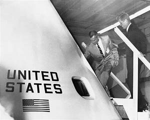May 25, 1961: Kennedy ramps up the Space Race by pledging ...