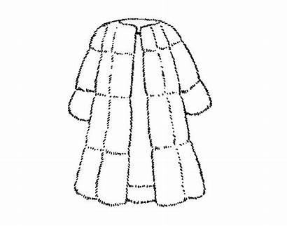 Manteau Pele Abrigo Colorear Casaco Colorir Fourrure