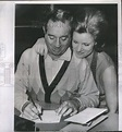 1962 Press Photo Martine Milner To Wed Harold Hecht As ...