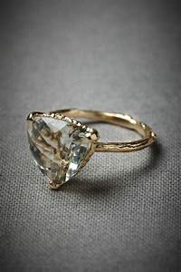 14 non traditional engagement rings we say yes to With traditional wedding rings