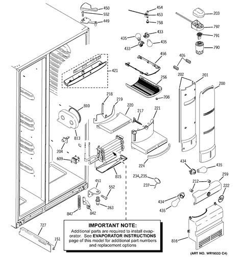 ge profile artica refrigerator    woodpecker