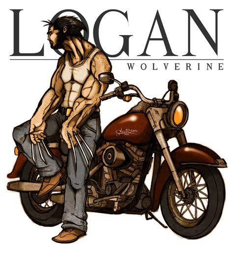 Logan By Ginoroberto By Marvelcomicsclub On Deviantart