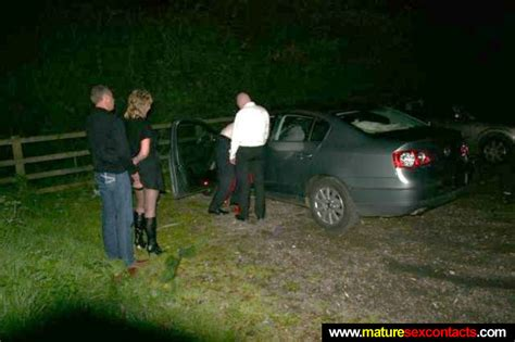 Mature wife out dogging