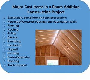 Room Addition Cost Estimates