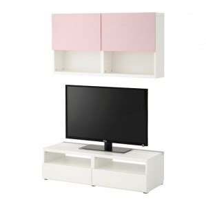 Ikea Tv Möbel Weiss by Best 197 Tv M 246 Bel Kombination Wei 223 Vara Rosa Moebelfans De
