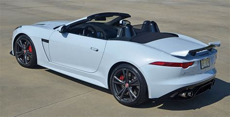 2017 Jaguar F-type Svr Convertible Quick Spin Review