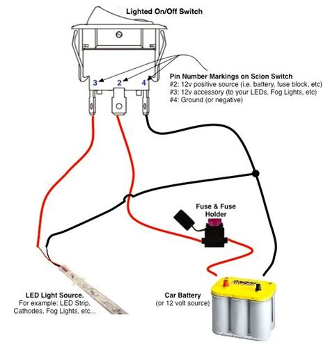 electrical wiring lighted switch wiring diagram for