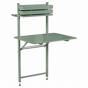 Table Pliante Metal : table balcon bistro table pliante pour balcon ~ Teatrodelosmanantiales.com Idées de Décoration