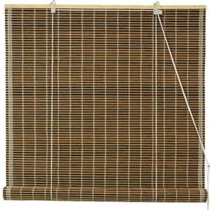 burnt bamboo roll up blinds dark olive walmart com