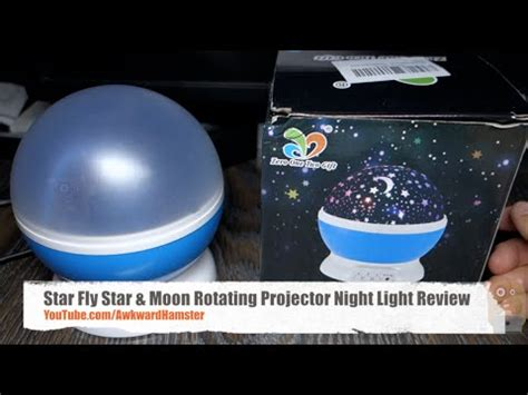 star fly star moon rotating projector night light star fly star moon rotating projector night light review
