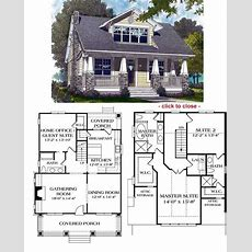 Bungalow House Styles  Craftsman House Plans And