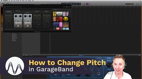 How To Garage Band by How To Change Pitch In Garageband