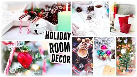 Diy Christmas Room Decor! Holiday Room Makeover 2015 Youtube