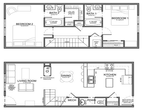 Bathroom Floor Plans by Narrow Bathroom Floor Plans Dimensions Floor Plans