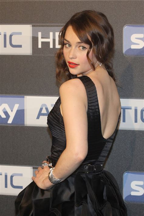 Submitted 21 hours ago by artslut42069. EMILIA CLARKE at Sky Atlantic HD Launch Party in Hamburg - HawtCelebs