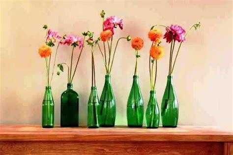 model vas bunga unik  kaca tanah liat bahan