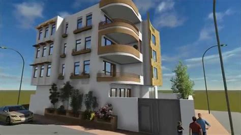 residential building design   animation youtube