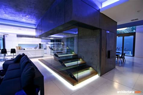 desain rumah  hunian  gaya kontemporer pt