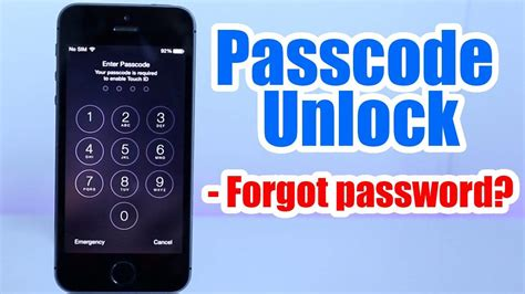 how to reset iphone password how to restore iphone passcode without restoring jailbreak