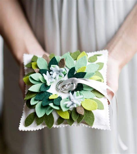 diy ring bearer pillow wedding ideas for brides
