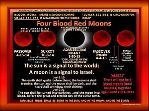 Tetrad moon. For Blood Red Moons coming. 2014 -2015 ...