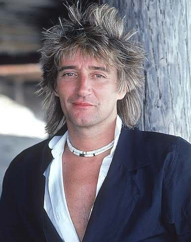 Rod Stewart Rock Star Mullet ? Cool Men's Hair